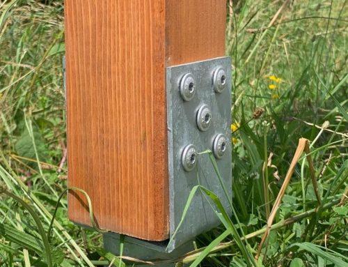 Kerítés építés lépésről lépésre talajcsavar használatával